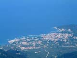 View of Thassos town from OTE Aerials